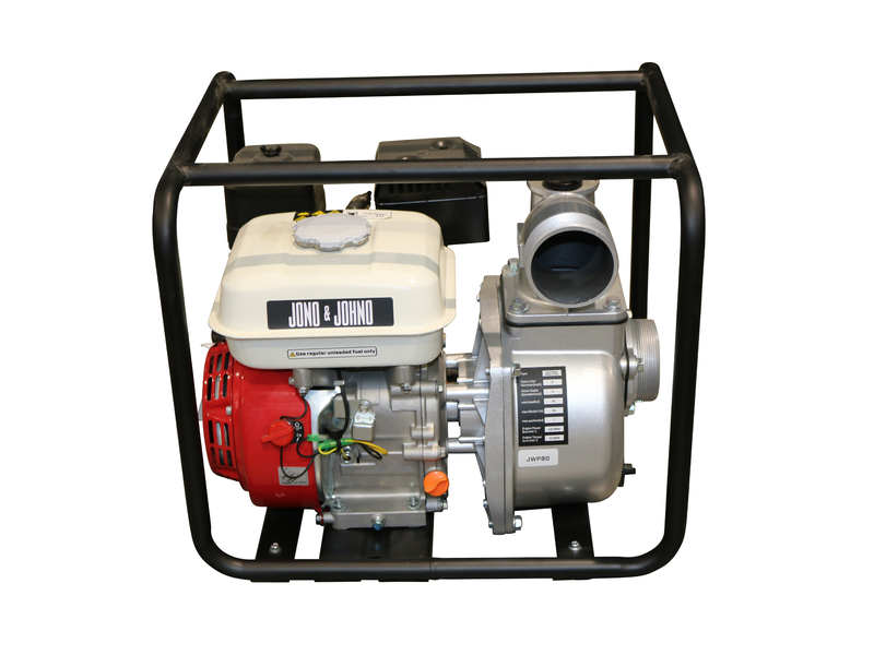 "7HP Water Transfer Pump 4 Stroke Petrol 76mm 3"" High Volume 50,000L/HR"