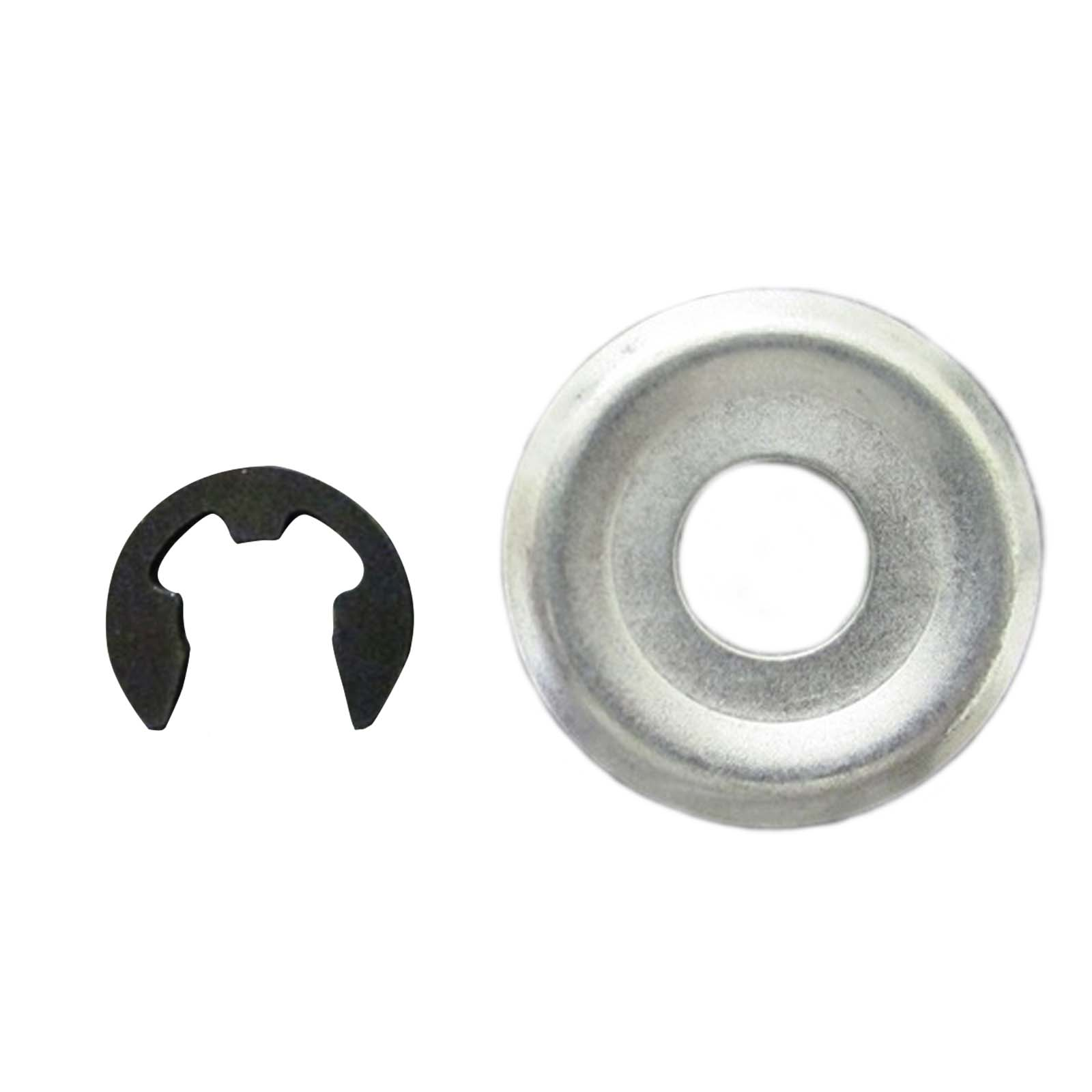 Sprocket E-Clip & Washer for Stihl 017 MS170 018 MS180 MS181 019 MS190 Chainsaw