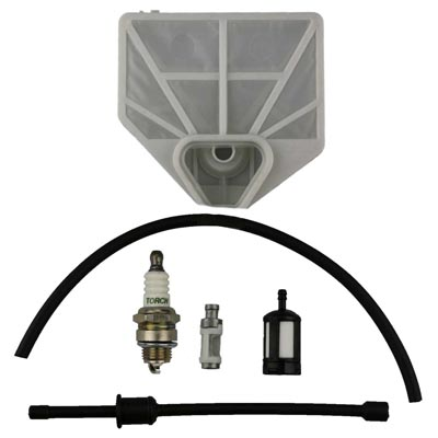 Yukon TM-8200 82cc Chainsaw Service Kit Air Fuel Oil Filter + Hose + Spark Plug